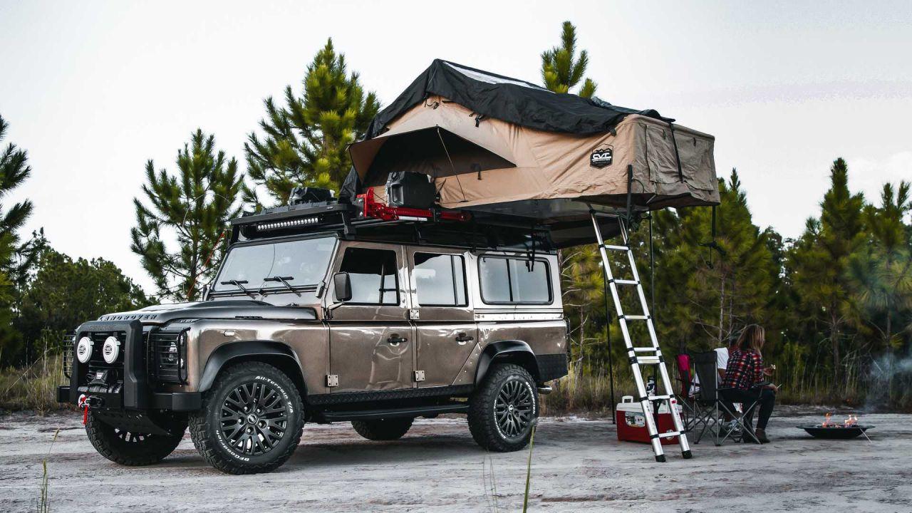 Kamp severlerin yeni gözdesi:1991 Land Rover Defender - Page 1