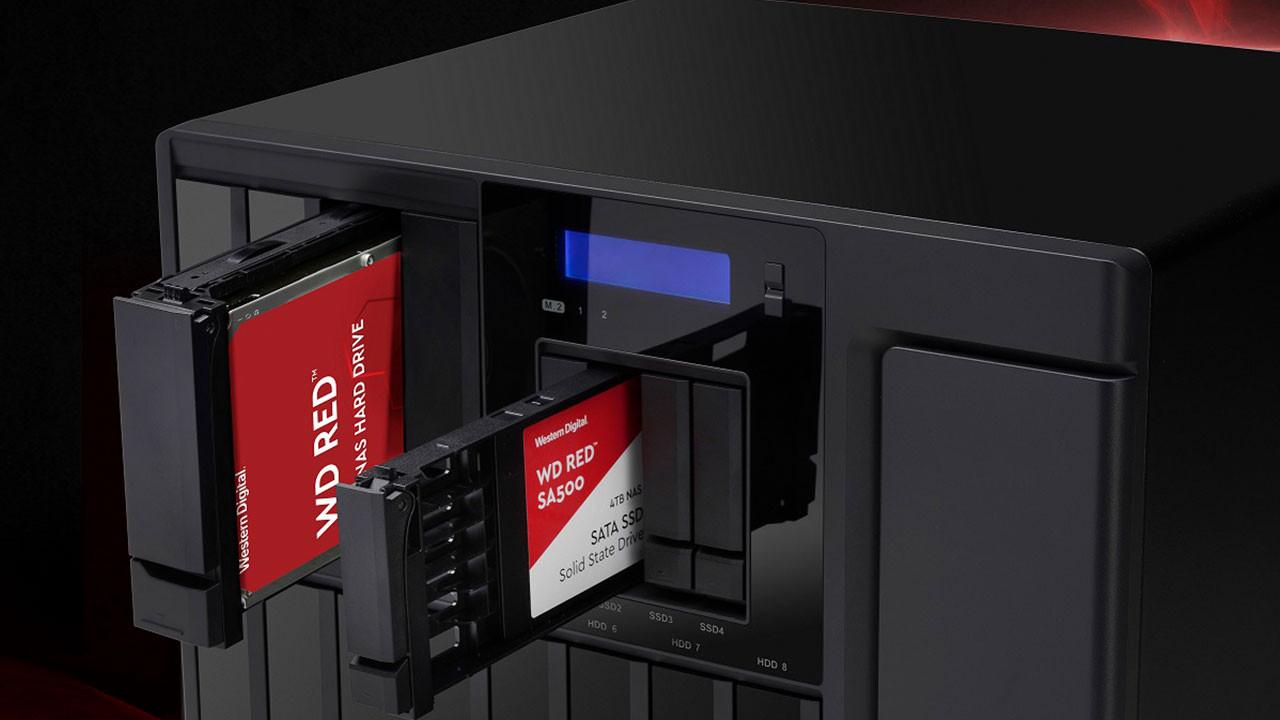 Western Digital'den yeni nesil NAS depolama çözümleri