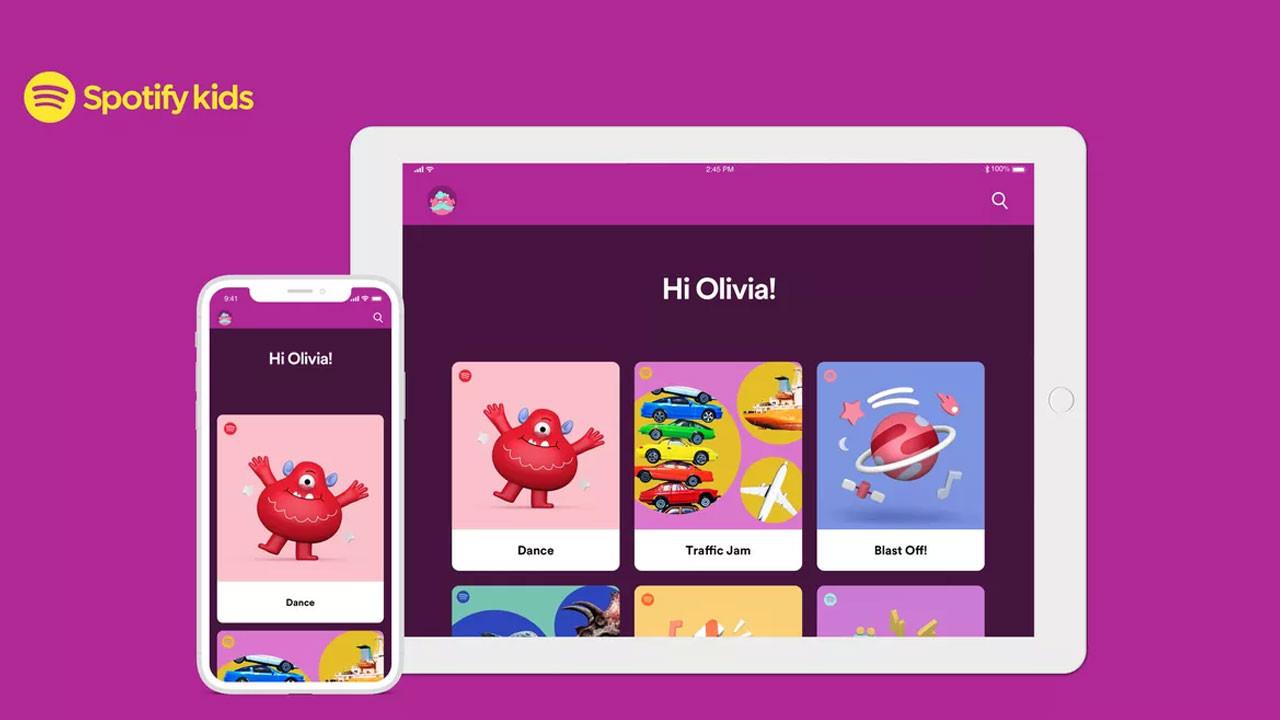 Çocuklara özel müzik paketi: Spotify Kids