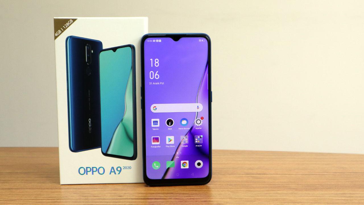 Sıla'nın telefonu OPPO A9 2020 kutudan çıkıyor (video)