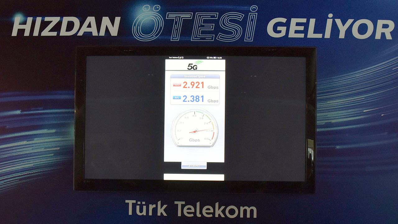 Türk Telekom'dan 5G denemesinde dünya hız rekoru