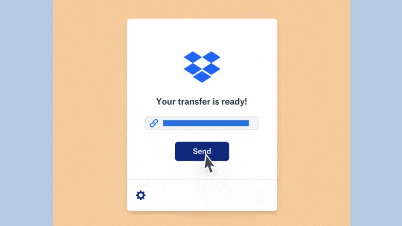Dropbox'tan dosya transfer servisi: Dropbox Transfer