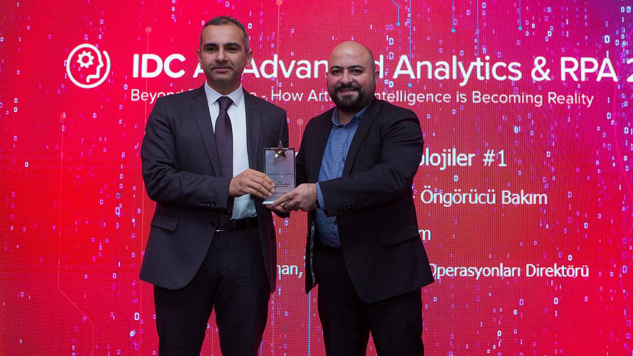 Türk Telekom'un 'Yüzde 100 Yerli' Yapay Zekâ projesine ödül