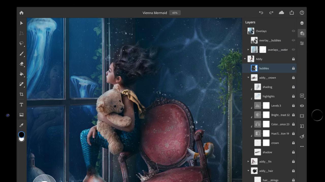 Photoshop'un iPad sürümü beğenilmedi