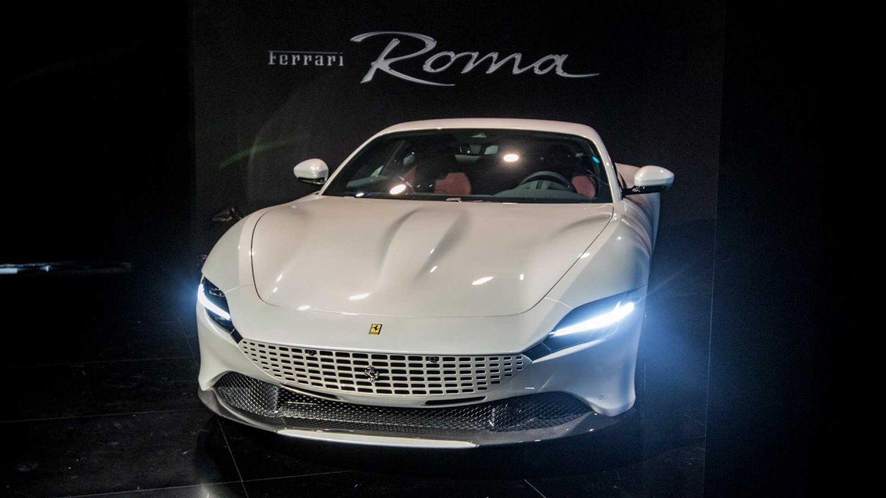 Ferrari'nin yeni modeli Roma tanıtıldı! - Page 4