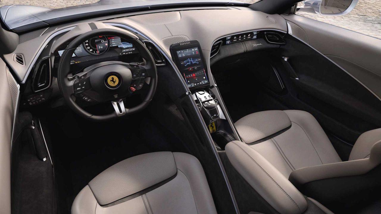 Ferrari'nin 620 Beygirlik Roma  modeli tanıtıldı! - Page 4