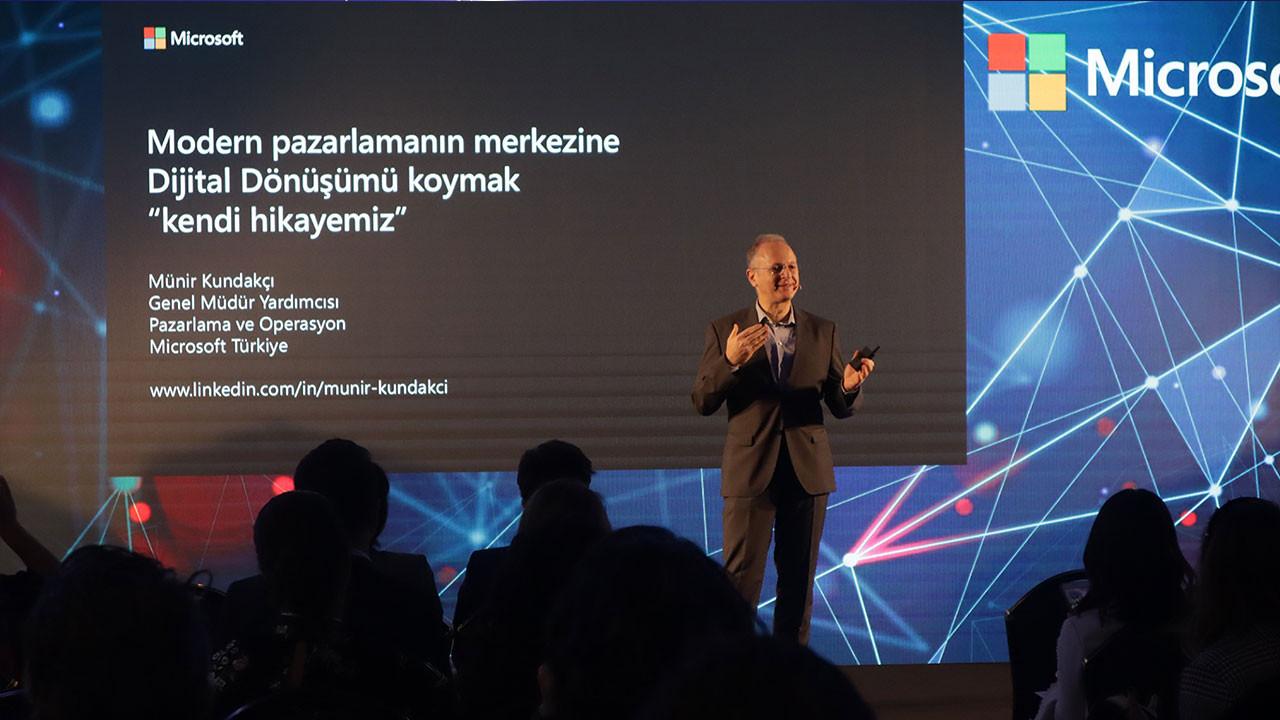 Microsoft Türkiye pazarlamanın liderlerini bir araya getirdi