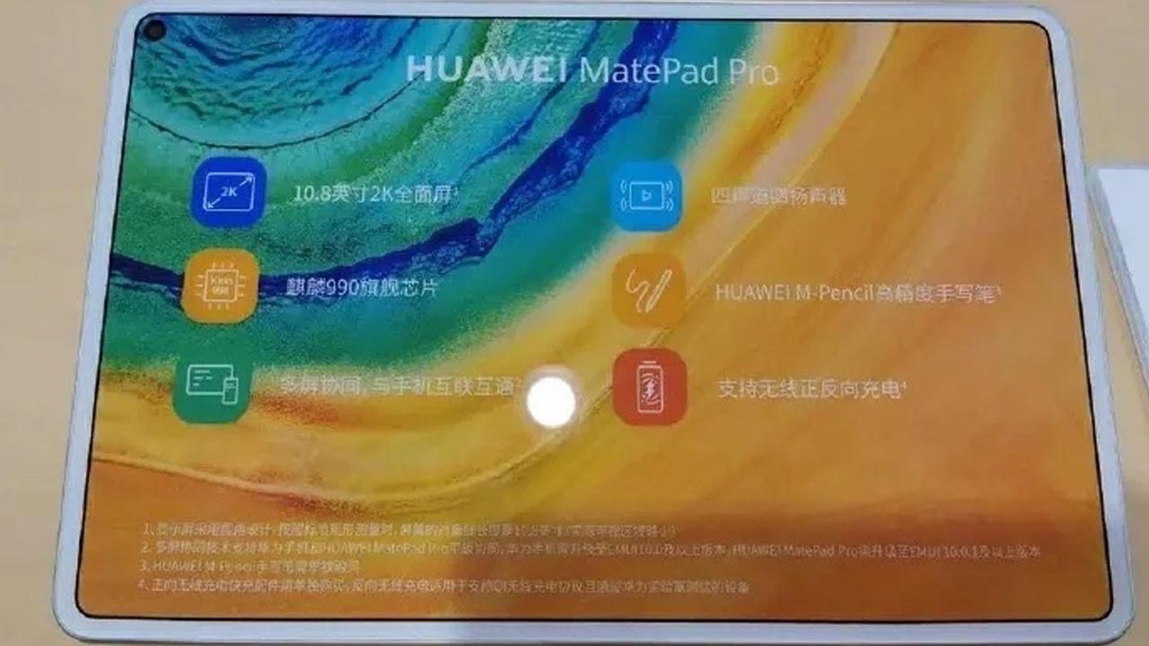 Huawei MatePad Pro yeniden göründü
