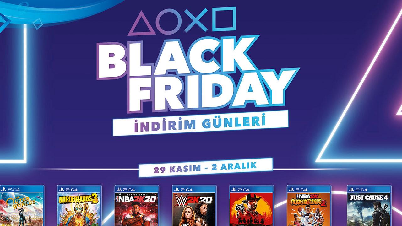 Sony Türkiye'den Black Friday indirimleri