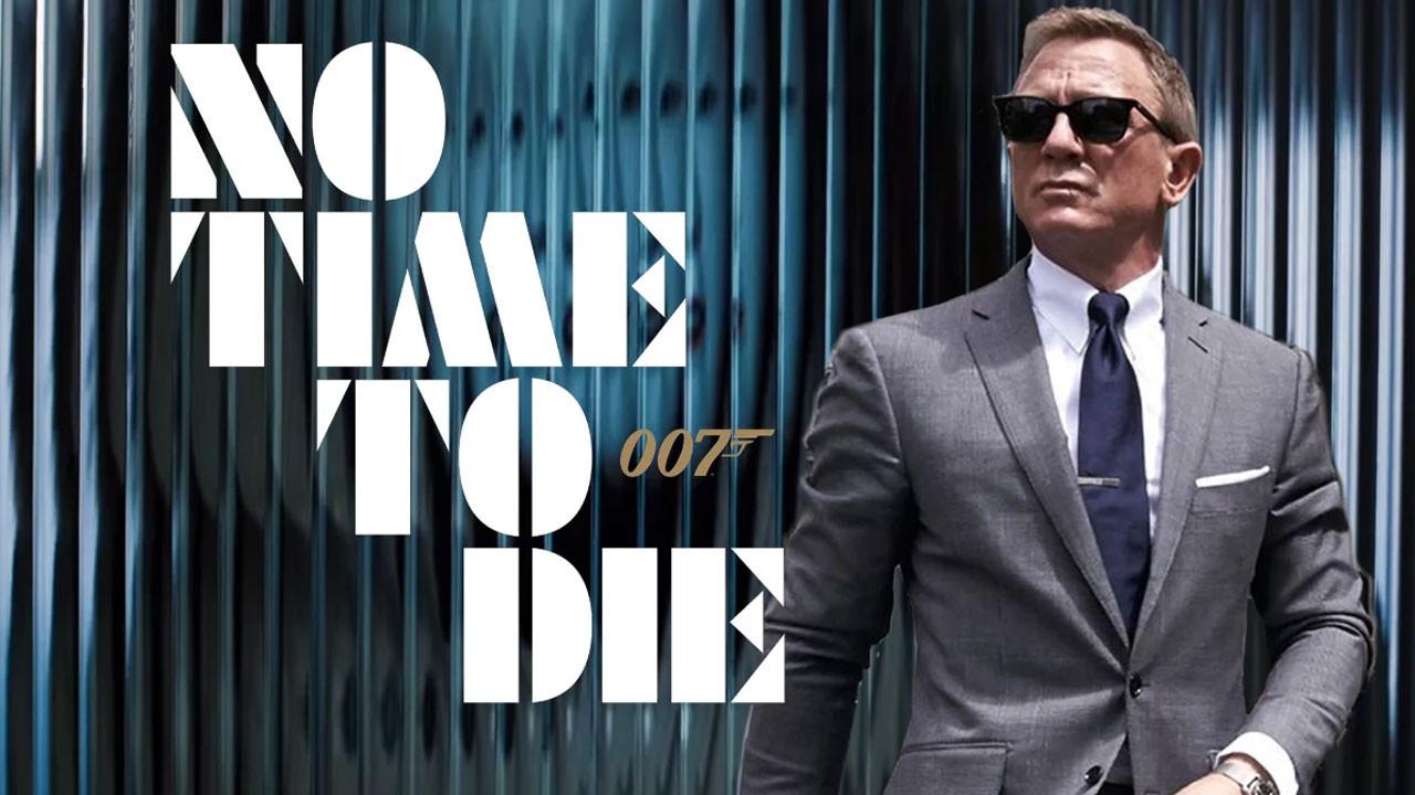 Yeni James Bond filmi No Time to Die'dan ilk fragman geldi