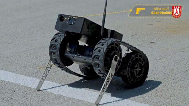 Milli insansız kara aracı prototipi geliştirildi! - Page 3