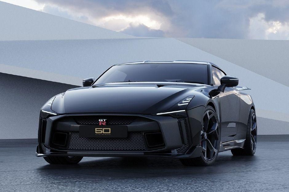 Nissan özel tasarımlı GT-R50 modelini tanıttı! - Page 1