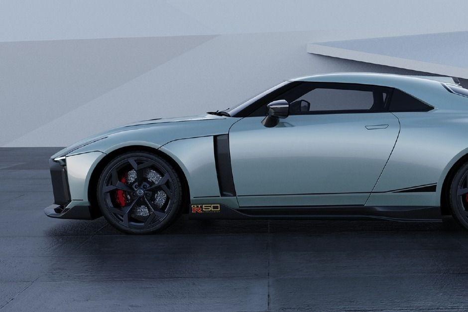 Nissan özel tasarımlı GT-R50 modelini tanıttı! - Page 4