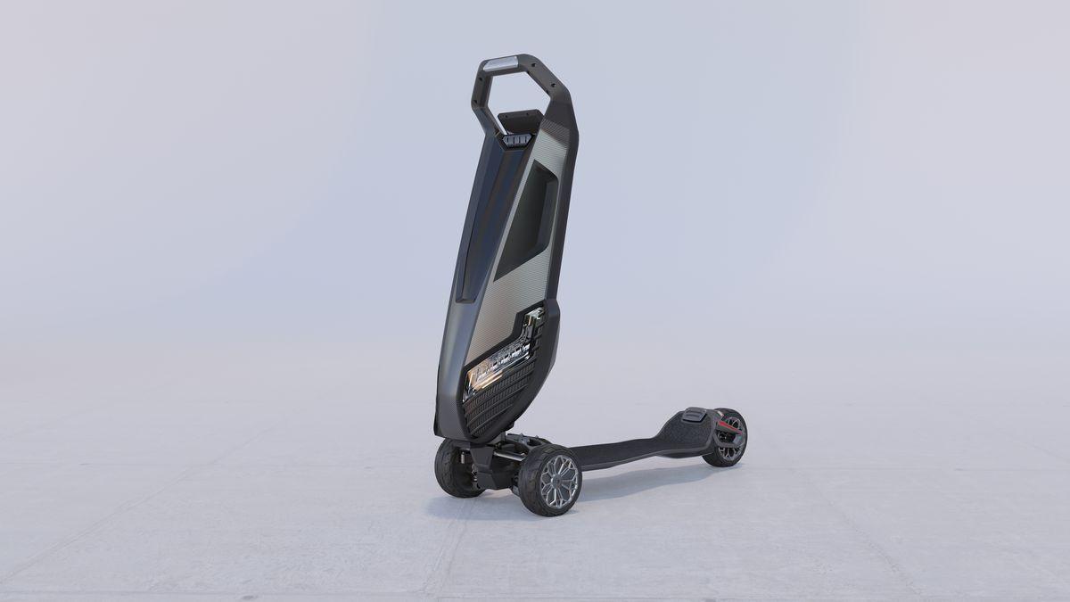 Tasarımı ile şaşırtan elektrikli scooter: Dragonfly - Page 3
