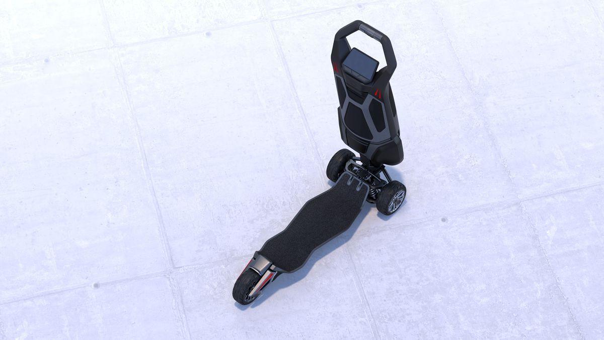 Tasarımı ile şaşırtan elektrikli scooter: Dragonfly - Page 4