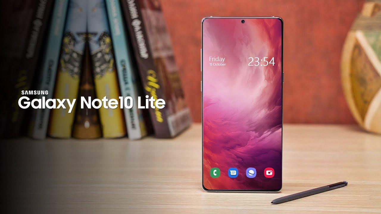 Samsung Galaxy Note 10 Lite özellikleri ortaya çıktı!