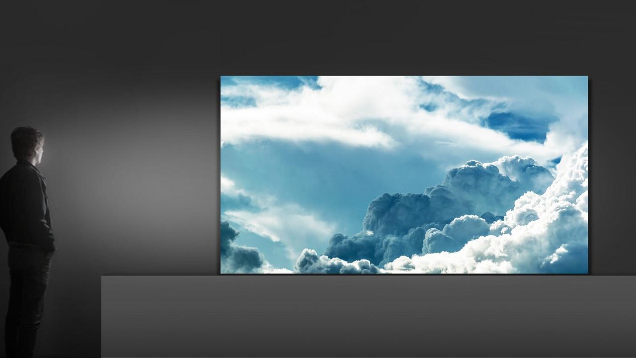 Samsung'un çerçevesiz televizyonu göründü!