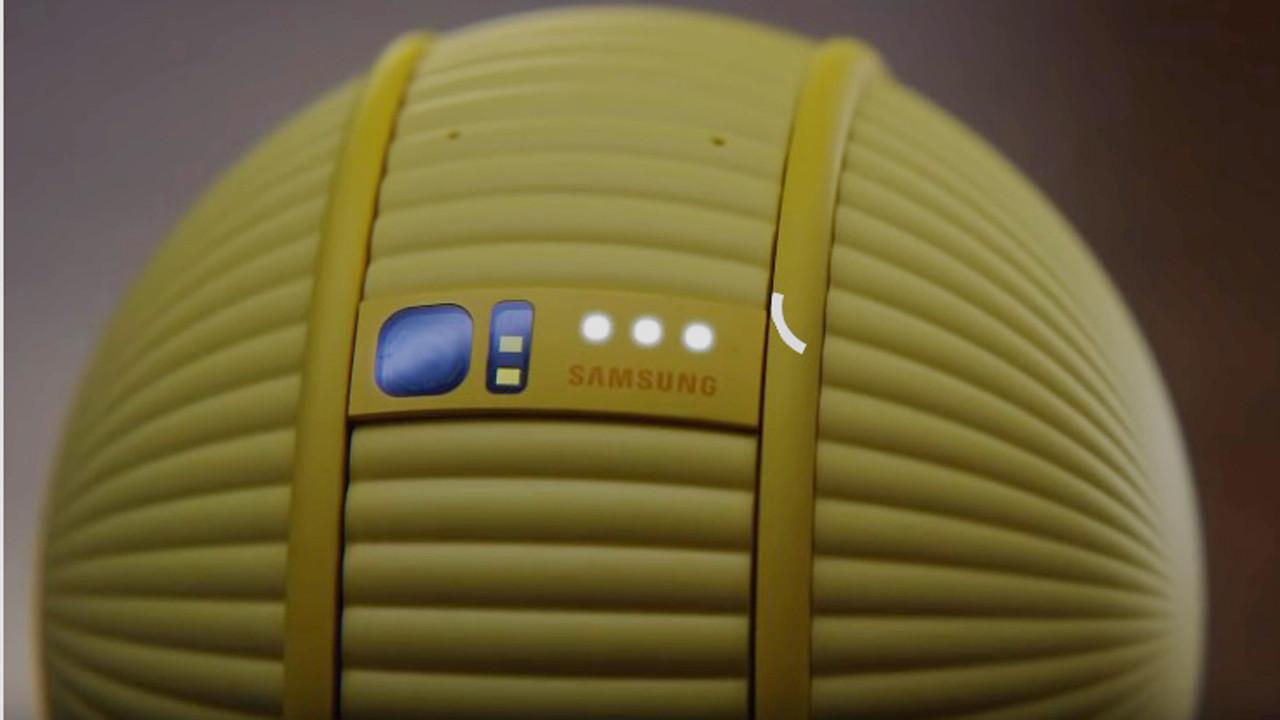 Top gibi robot: Samsung Ballie!