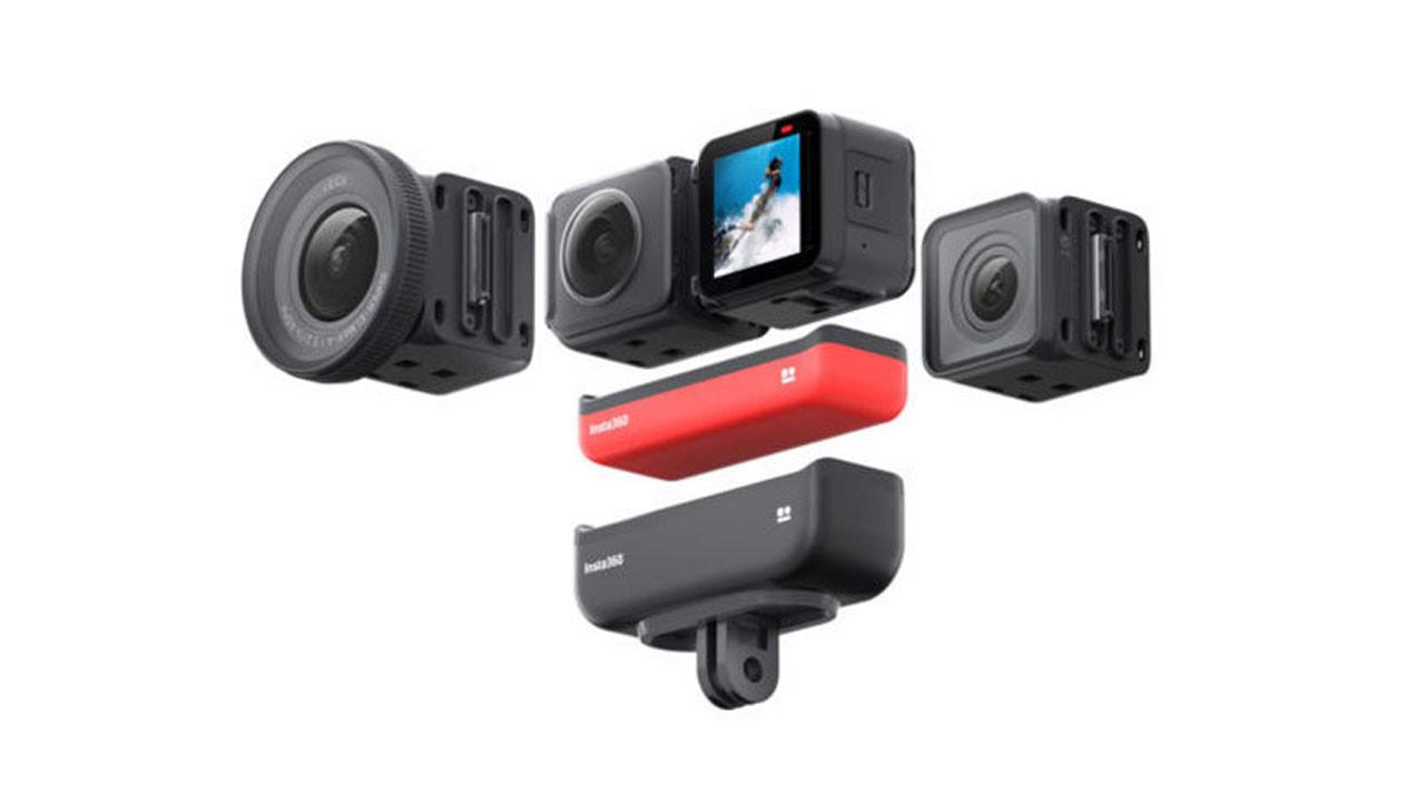 Hem aksiyon hem 360 derece kamera: Insta360 One R
