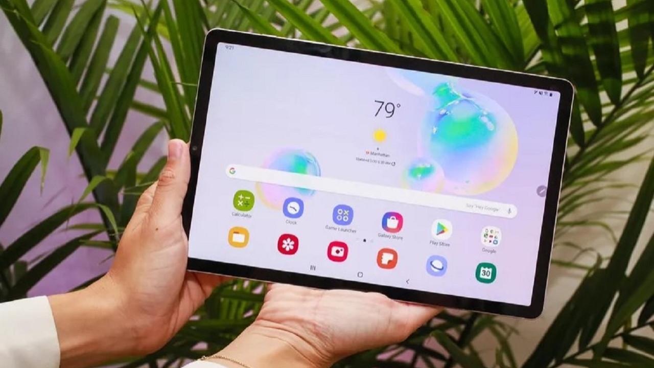 Samsung Galaxy Tab S6 5G özellikleri sızdırıldı!