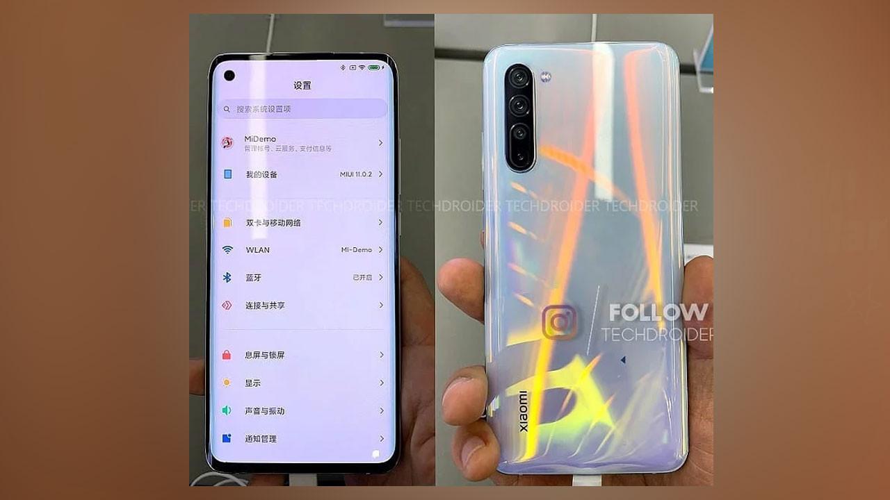 Xiaomi Mi 10 fotoğrafları internete düştü