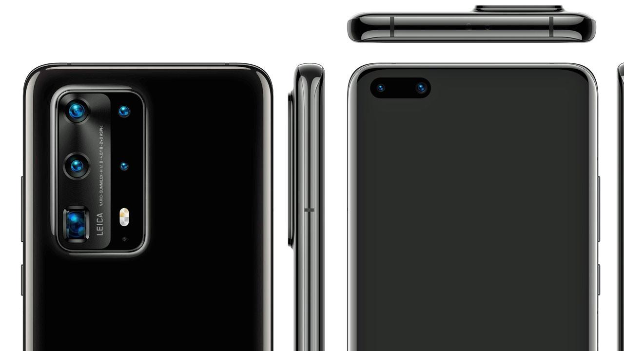 Huawei P40 Pro tasarımı ortaya çıktı