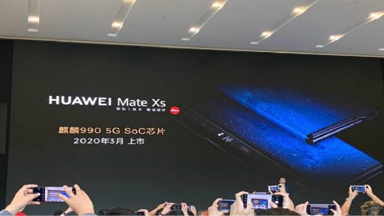 Huawei Mate Xs'in tanıtım tarihi belli oldu!