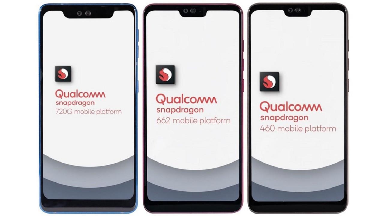 Qualcomm, Snapdragon 720G, 662 ve 460 işlemcilerini tanıttı