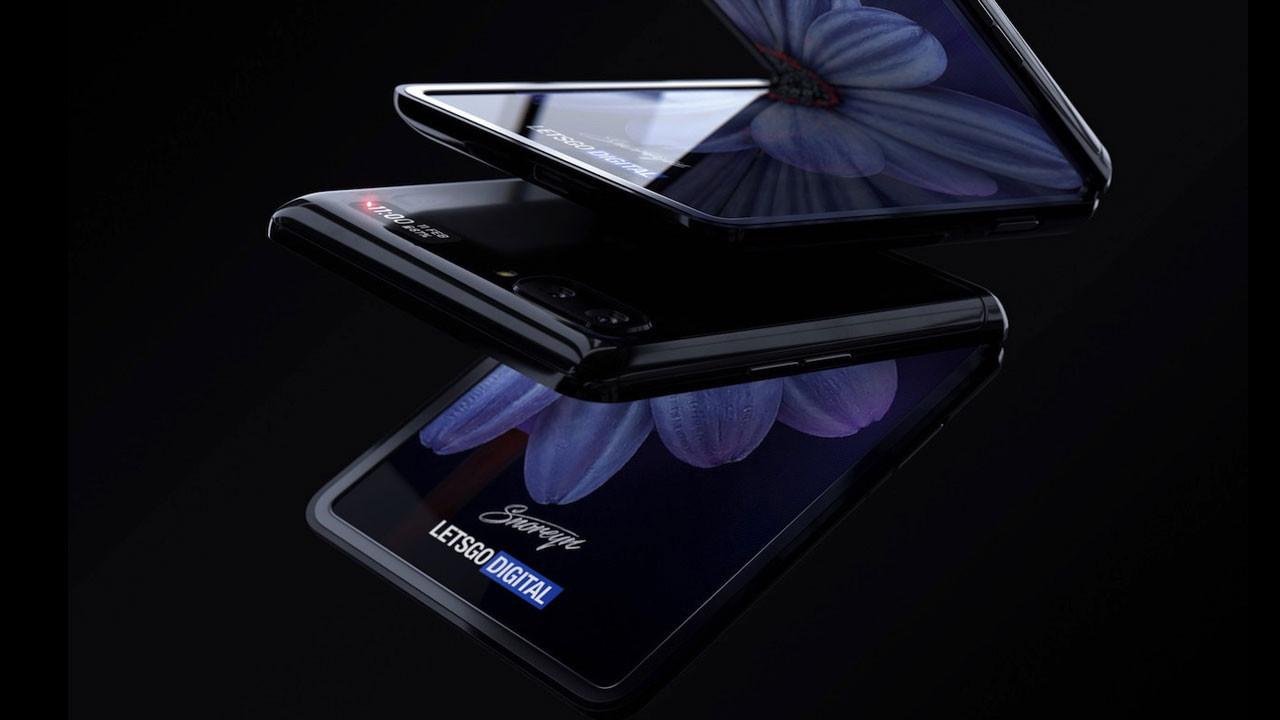 Samsung Galaxy Z Flip ortaya çıktı (video)