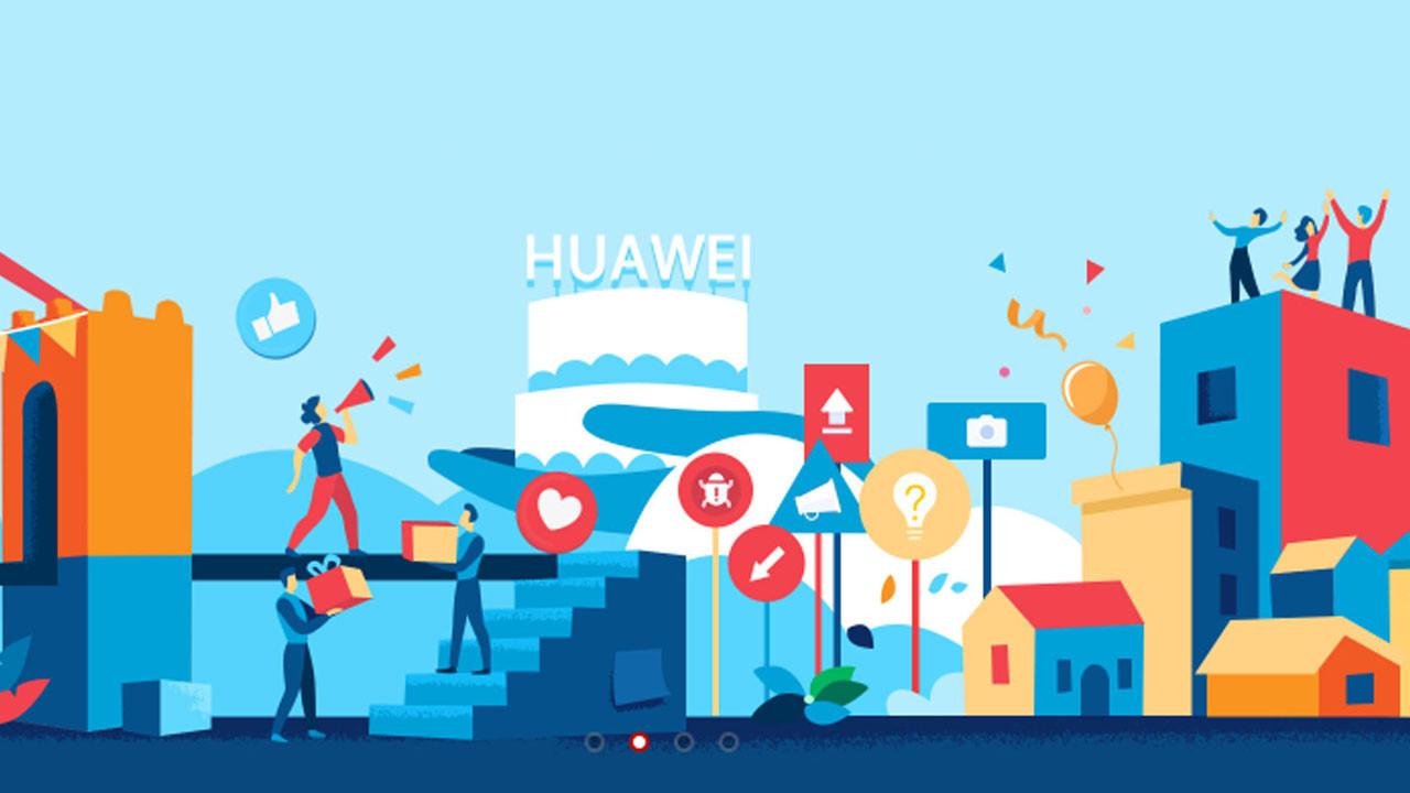 Huawei Topluluk Türkiye'de kullanıma açıldı