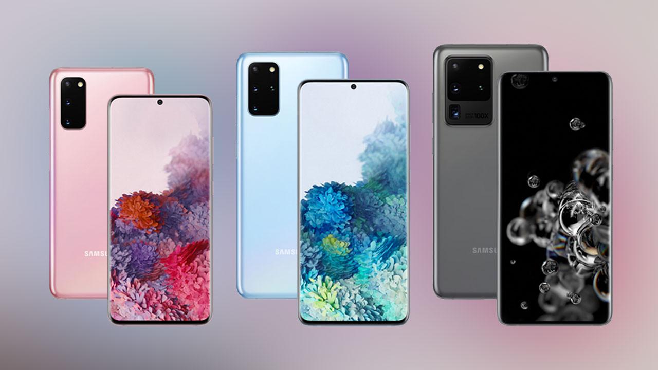 Samsung Galaxy S20, S20 Plus ve S20 Ultra arasındaki farklar