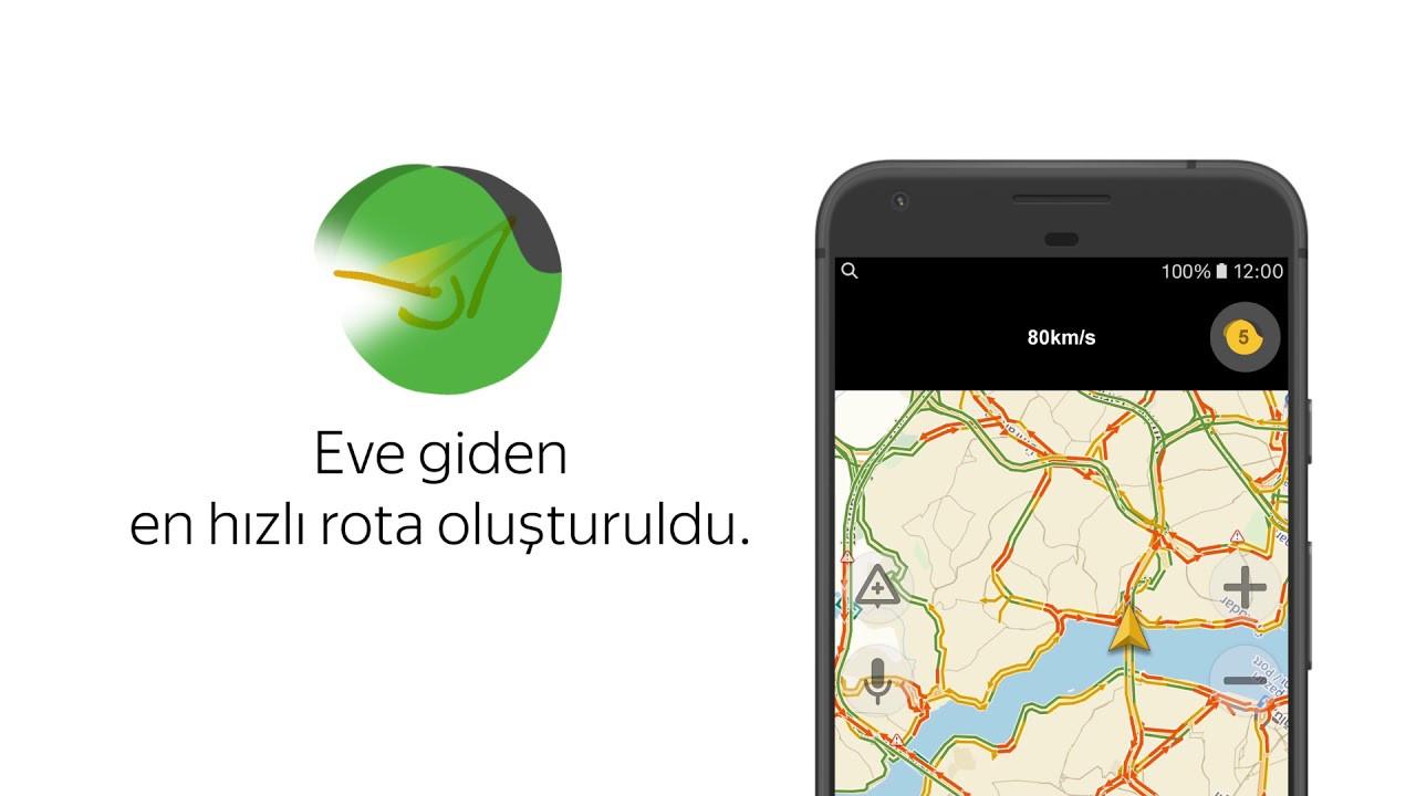Yandex Navigasyon için deprem güncellemesi