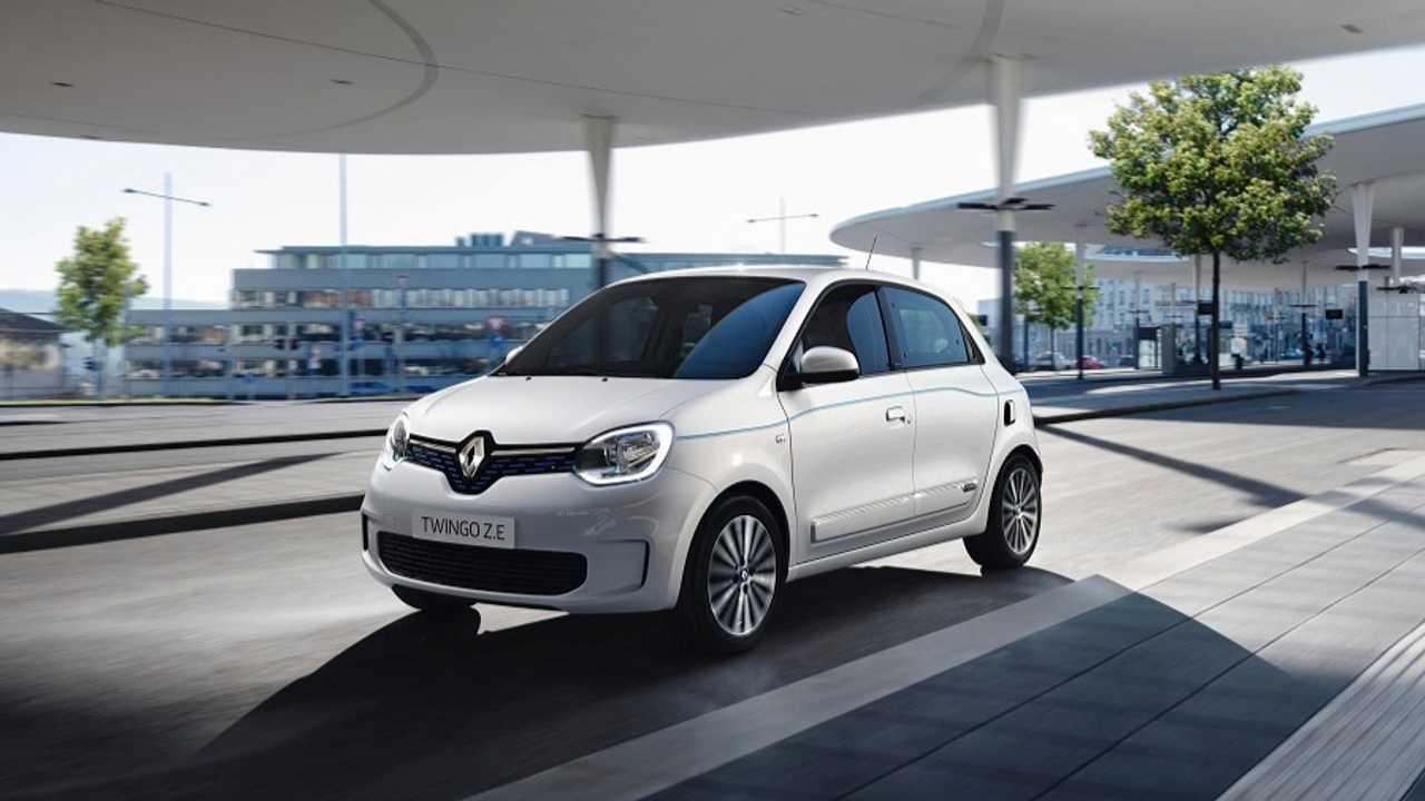 Renault yeni elektrikli Twingo Z.E. modelini tanıttı!