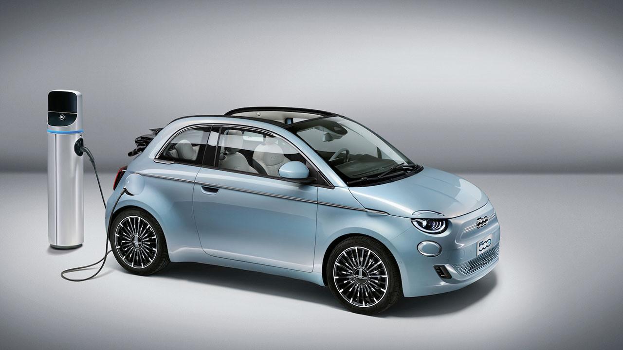 Fiat 500 artık yüzde 100 elektrikli