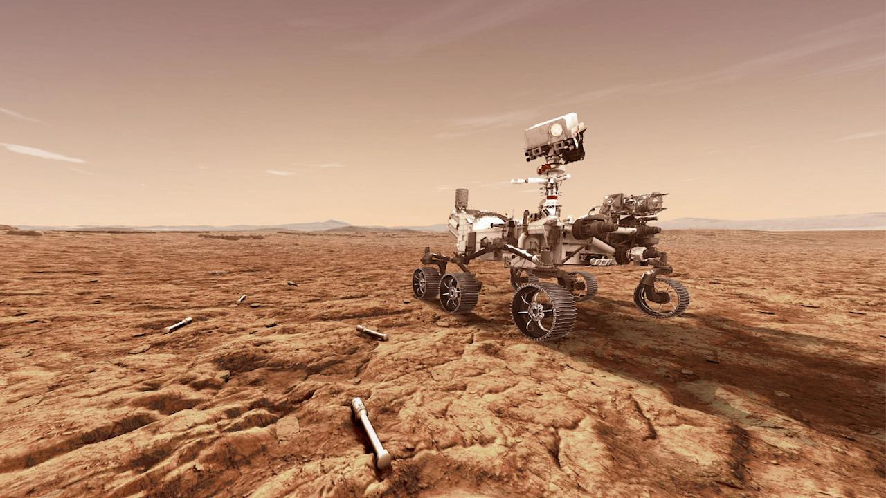 Mars'ın 1.8 milyar piksellik fotoğrafı çekildi!