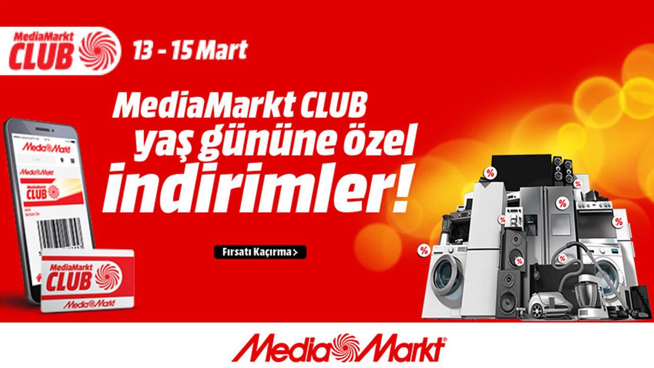 MediaMarkt CLUB yaş gününe özel indirim kampanyası