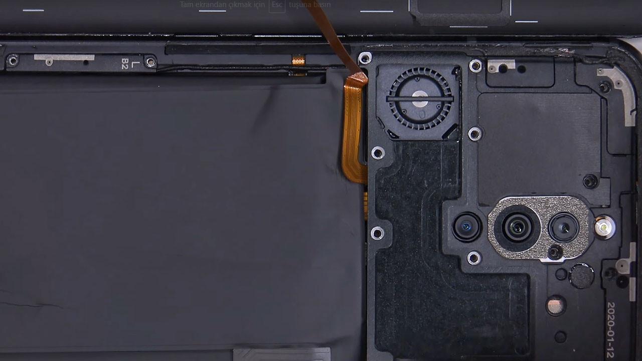 Bilgisayar gibi telefon yapmışlar! Red Magic 5G parçalarına ayrıldı!