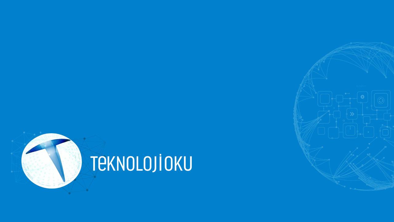 Teknolojioku'yu sosyal medyada da takip edin!
