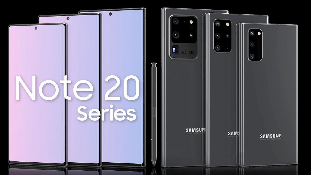 Galaxy Note 20 ve 20+ ekran özellikleri belli oldu