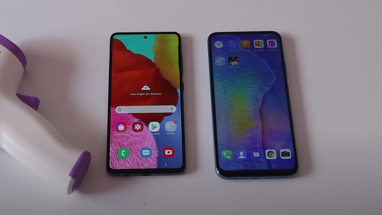 Huawei P Smart Pro ve Galaxy A51 karşı karşıya!