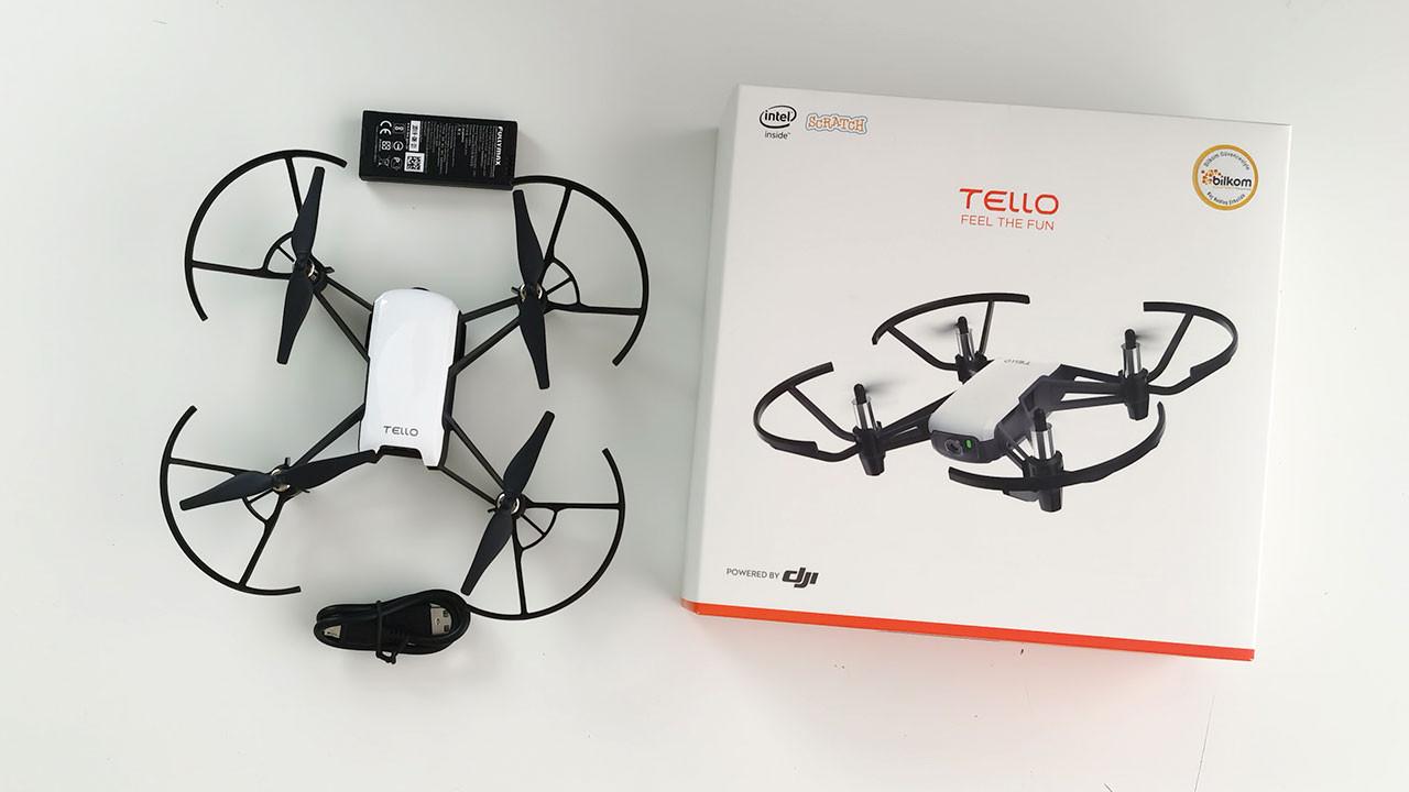 Yeni oyuncağımız DJI Tello Ryze kutudan çıkıyor! (video)