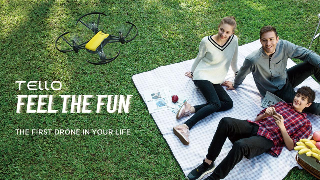 DJI Tello ile drone keyfi çocuklar için daha eğlenceli ve güvenli