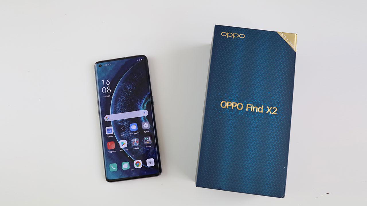 12 GB RAM'li OPPO Find X2 kutusundan çıkıyor!