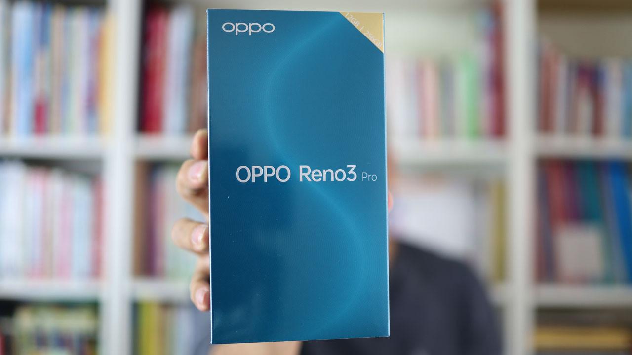 Find X2'nin kardeşi: OPPO Reno 3 Pro kutudan çıkıyor!