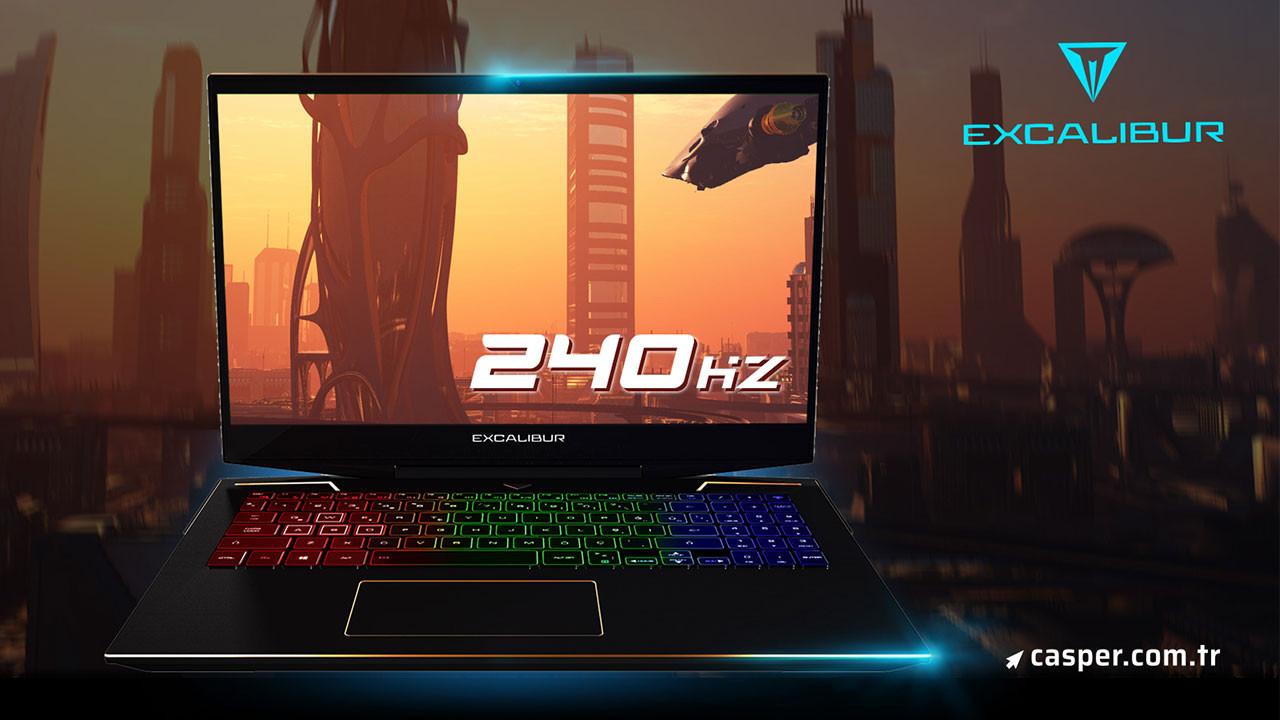 240 Hz yenileme hızına sahip Casper Excalibur G900
