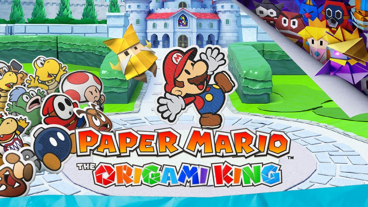 Nintendo yeni Mario oyununu duyurdu! Paper Mario The Origami King