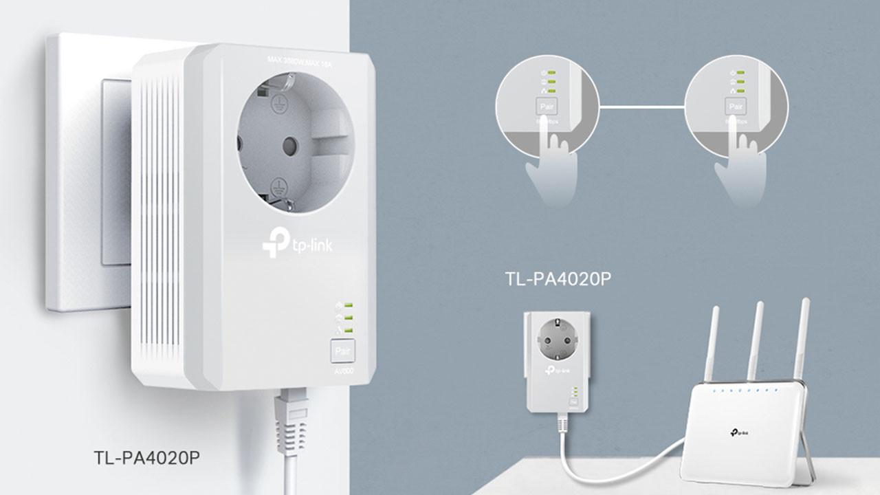 TP-Link'ten yeni powerline çözümü: TL-PA4020P