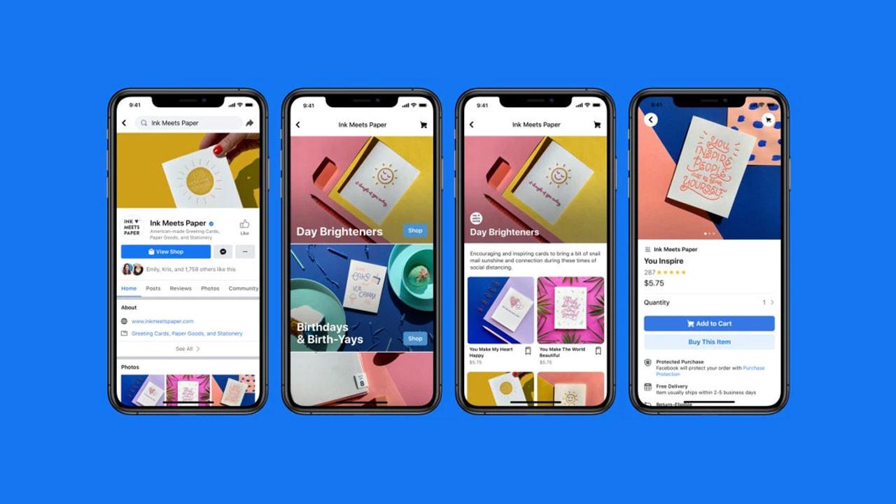 Küçük esnafa can suyu: Facebook Shops resmen tanıtıldı