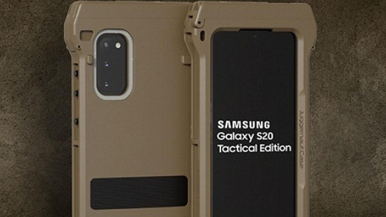 Samsung bu nasıl telefon? Galaxy S20 Tactical Edition tanıtıldı!
