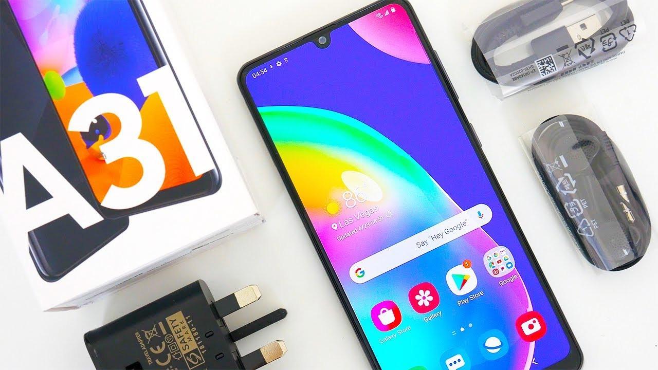 Bütçe dostu Galaxy A31 satışa çıkıyor! İşte fiyatı!